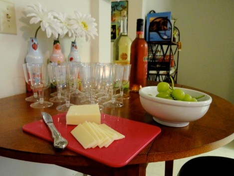 Wine and Cheese Night to mark our final year at IU.