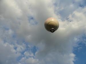 Air balloon ride over Krakow, Poland. Taylor Smith