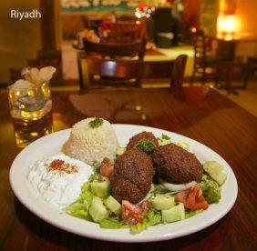 Lebanese food from Riydah restaurant in SE Portland. Photo by Thomas Boyd.