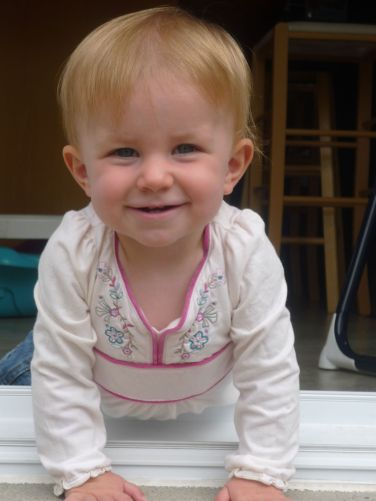 Annika, growing into such a beautiful little girl.