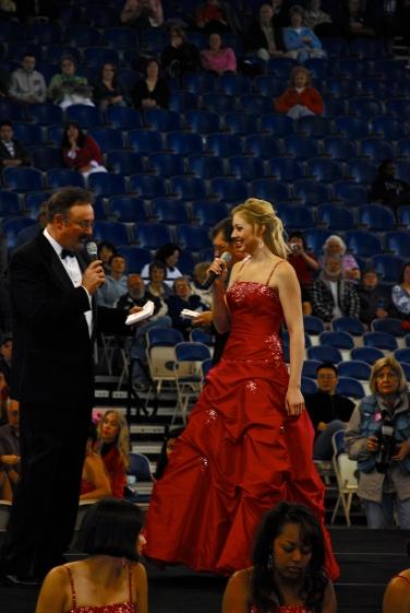 Rose Festival coronation in 2008.