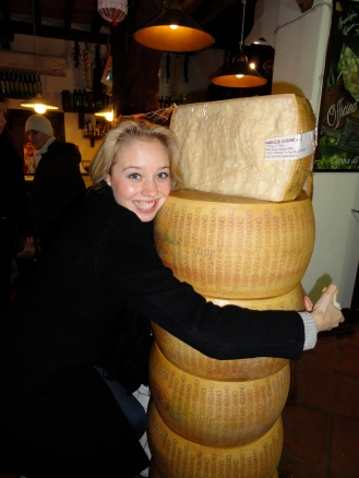 Who loves parmigiano? Me!