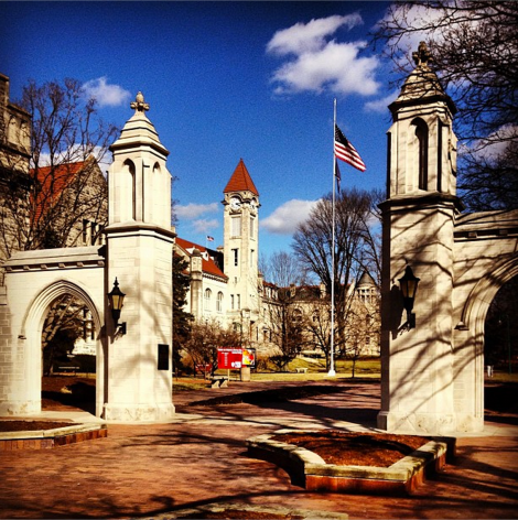Indiana University, Sample Gates