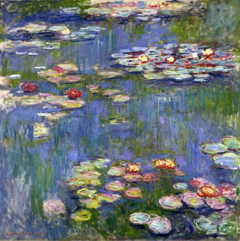 Water Lilies by Cladue Monet